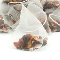 Grid square exotic strawberry kiwi fruit tea pyramid teabags preview