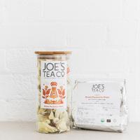 Grid square feisty turmeric guru jar and 100ct   joe s tea co.   high res 1x1