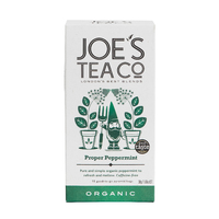 Grid square proper peppermint front retail front of pack   joe s tea co.   cut out high res