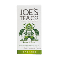 Grid square queen of green front retail front of pack   joe s tea co.   cut out high res