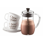 Bodum Chocolatiere, Chocolate Jug, 1.0 L, 34 Oz   Shiny